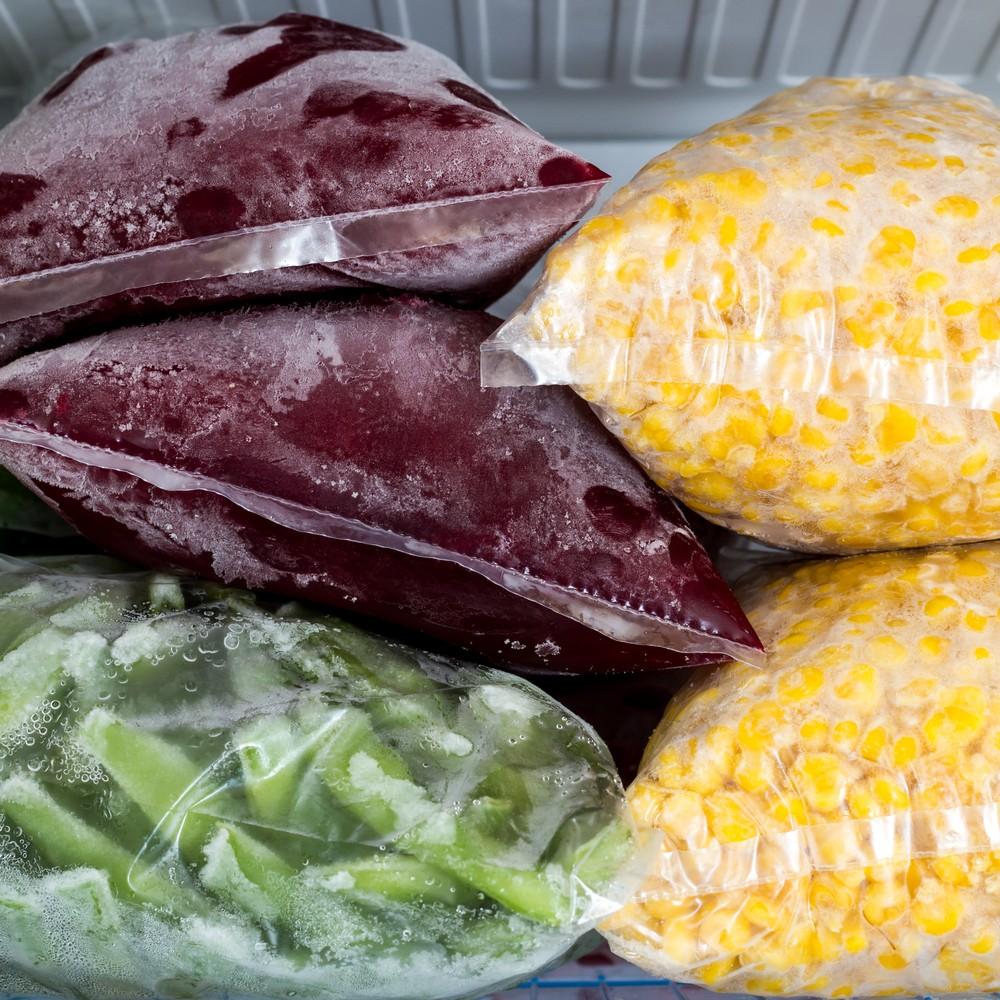 Comida no freezer