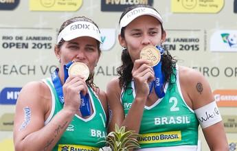 FIVB elege Larissa melhor jogadora do ano e, Ágatha/Bárbara, a melhor dupla