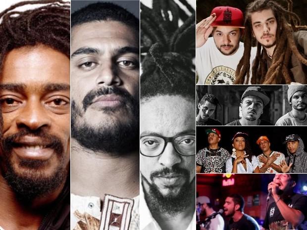 Seis atrações devem movimentar o Festival O Rolê, em Goiânia (Foto: Divulgação/O Rolê)
