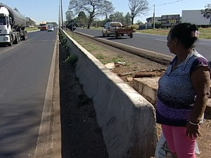 Rodovia Uberaba (Foto: Reprodução/TV Integração)