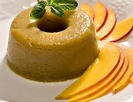 pudim_manga (Foto: Divulgação ONG Banco de Alimentos)