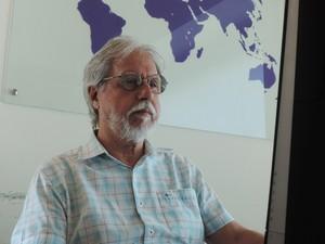 Especialista expõe ideias sobre o transporte em Presidente Prudente (Foto: Stephanie Fonseca/G1)