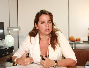 Promotora de Defesa do Consumidor, em São Luis-MA, Lítia Cavalcanti (Foto: De Jesus/O Estado)