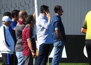 Eduardo Ferreira, diretor de futebol do Corinthians (Foto: Marcelo Braga)
