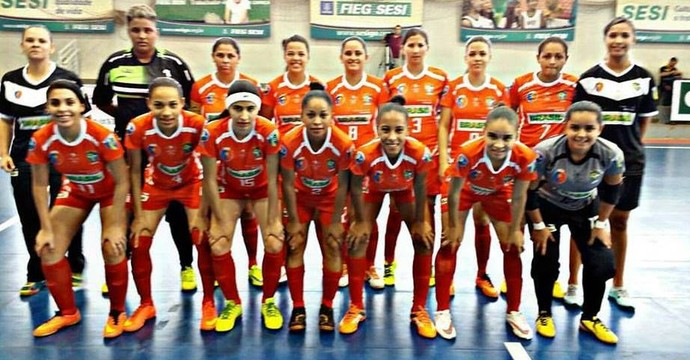 Estrela Real vence por 6 a 0 time do DF (Foto: FTFS/ Divulgação)