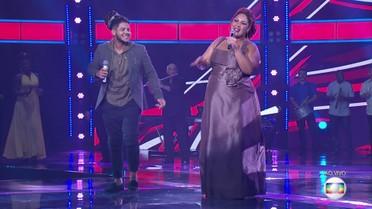 Afonso Cappelo e Cinthia Ribeiro interpretam 'Preciso Me Encontrar'