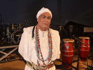 Pai José Oxossi, coordenador do festival (Foto: Gabriel Dias/G1)