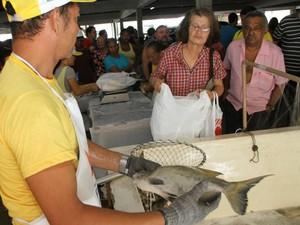 Feira do Pescado volta a acontecer mensalmente em Belém e Região Metropolitana (Foto: Elivaldo Pamplona/O Liberal)