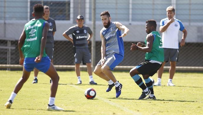 Marcelo Oliveira treino Grêmio (Foto: Lucas Uebel / Grêmio)