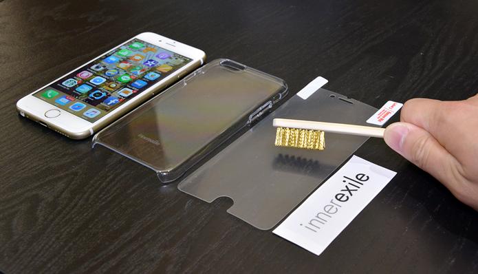 Innerexile apresenta película para iPhone que não apenas resiste aos riscos, mas os corrige (Foto: Reprodução/Engadget)