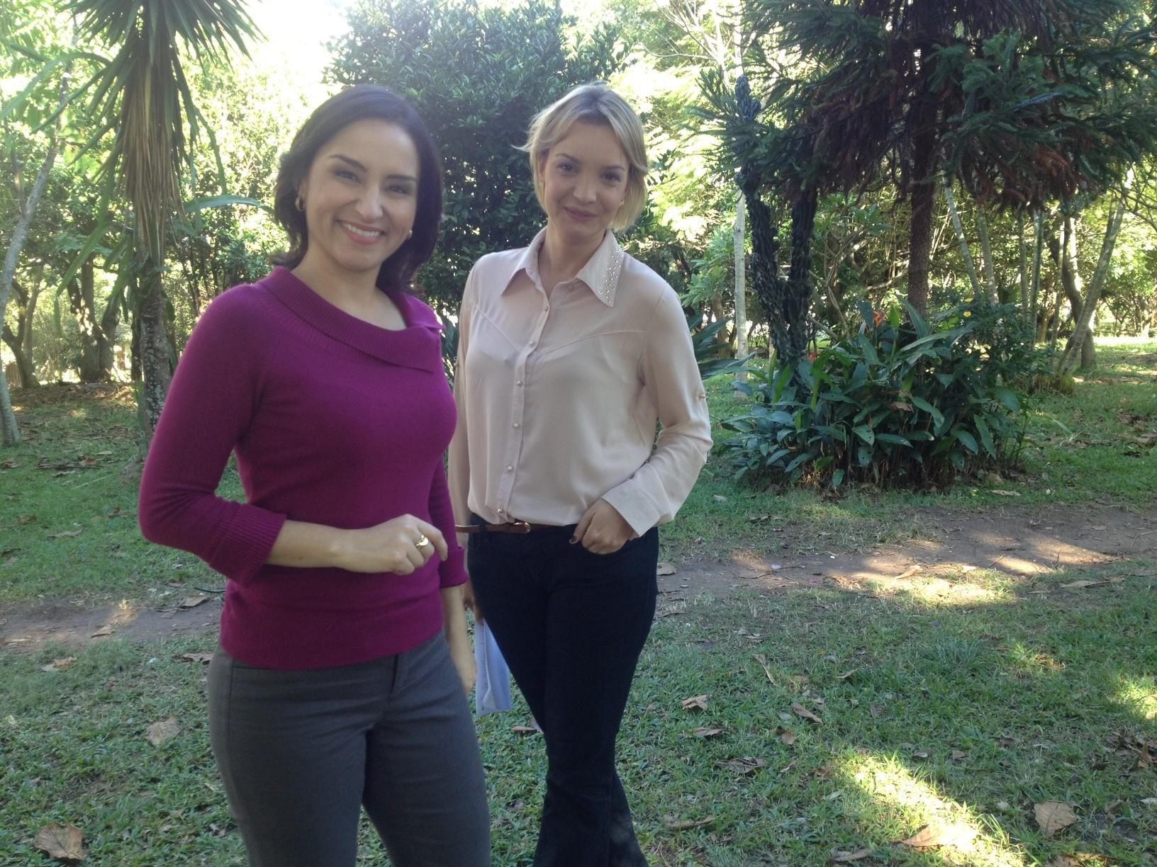 Soninha Campos e Tata Fromholz trazem dicas de saúde e beleza (Foto: Sônia Campos/Arquivo pessoal)