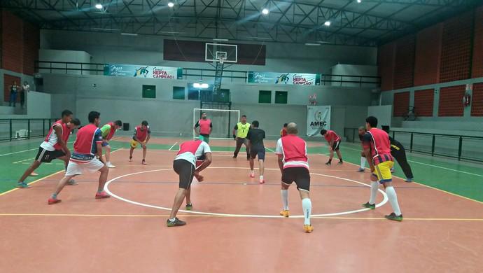 Na primeira fase, Cacoal venceu todos os jogos em casa (Foto: Fernanda Bonilha)