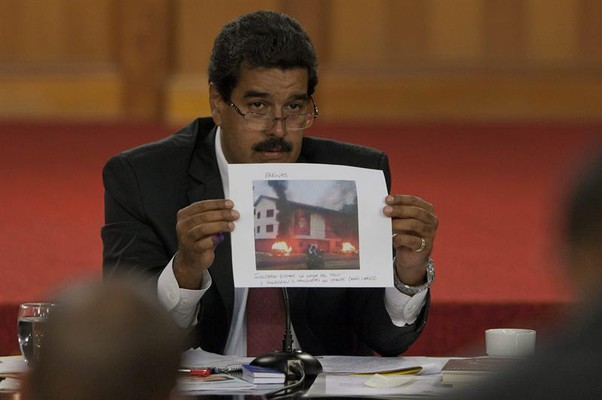 Nicolás Maduro (Foto: EFE/ BORIS VERGARA)
