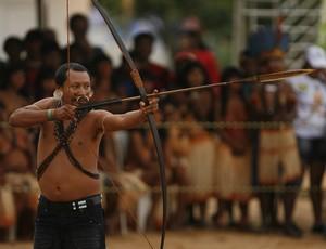 Jogos Indígenas 2011, no Tocantins (Foto: Oswaldo Forte)