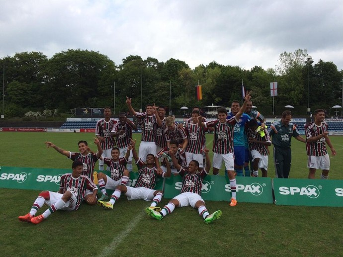 Fluminense Juniores sub-20 (Foto: Divulgação / Fluminense FC)