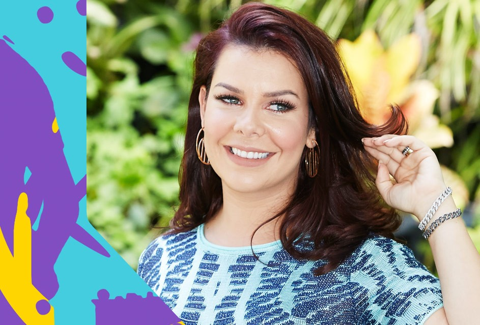 Fernanda Souza apresenta o TVZ Ao Vivo nesta segunda-feira (26) (Foto: Multishow)