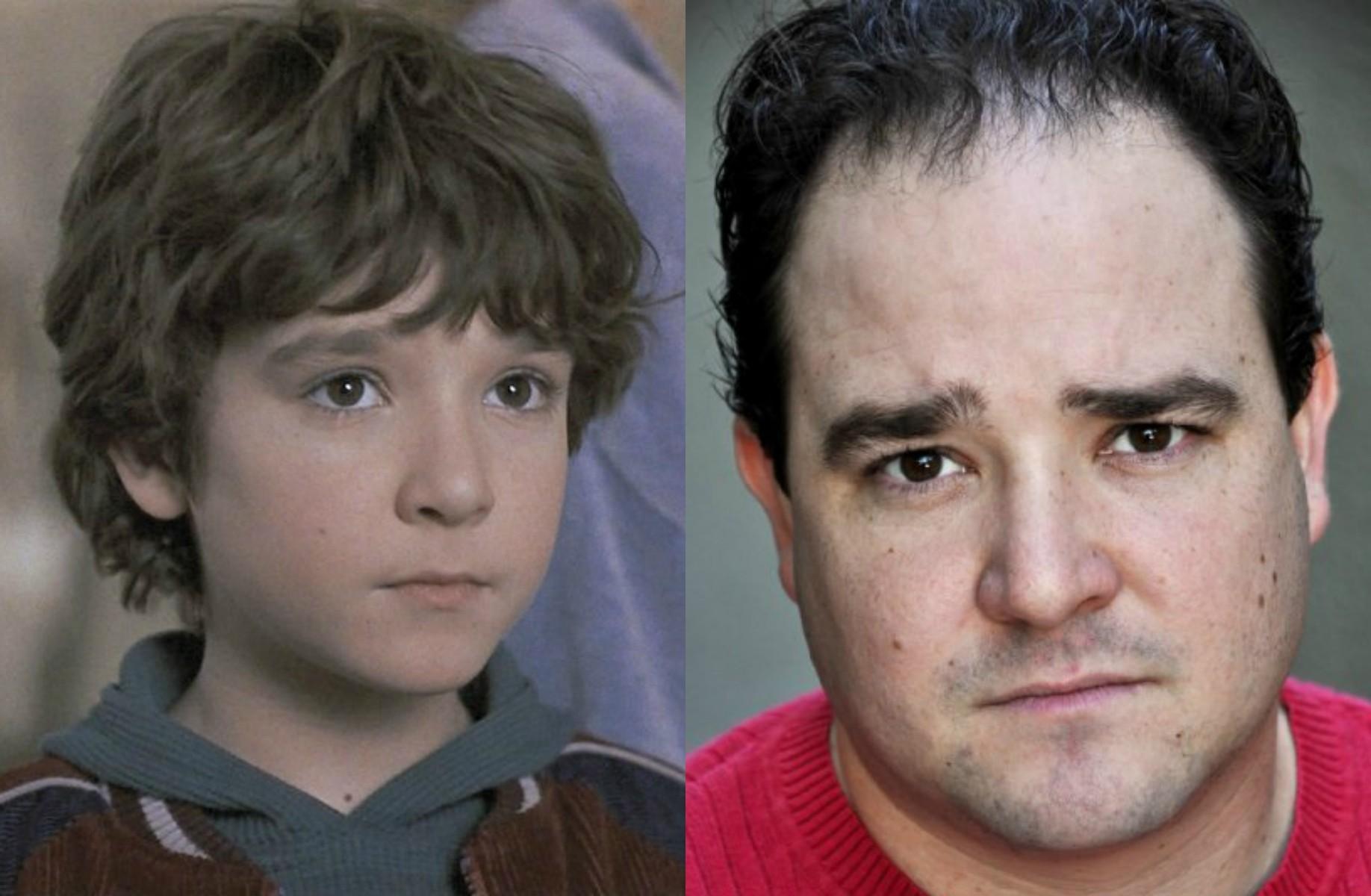 Bradley Pierce fez o Peter do clássico 'Jumanji' (1995). Agora está com 31 anos de idade. (Foto: Reprodução e Divulgação)