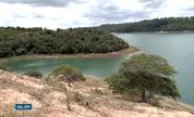 Lagoa Nova, em Linhares, ES, sofre com a seca (Divulgação/ TV Gazeta)