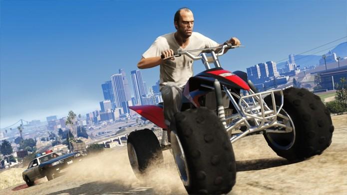 GTA 5 foi o primeiro jogo do Xbox 360 que exigia uma instalação para funcionar (Foto: Reprodução/YouTube)