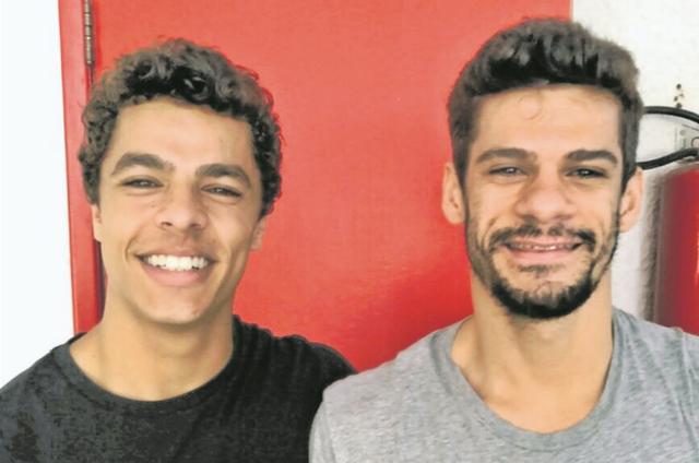 Matheus Abreu e Thiago Soares (Foto: Arquivo pessoal)