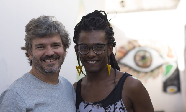 João Jardim e Liniker (Foto: Divulgação)