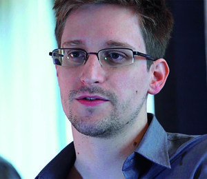 O PIVÔ Edward Snowden,  o delator do  mega-aparato de vigilância da NSA.  O verão de suas denúncias gerou o inverno do descontentamento contra a espionagem digital  (Foto: Getty Images/iStockphoto)