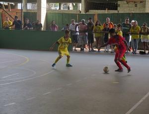 Copa TV Tribuna de Futsal Escolar, Objetivo Santos (Foto: Cássio Lyra)
