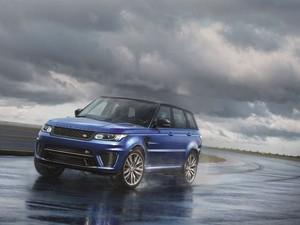 Range Rover Sport SVR (Foto: Divulgação)