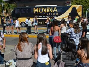 """Concurso """"Menina Fantástica"""" escolhe candidatas no Sul de Minas (Foto: Samantha Silva / G1)"""
