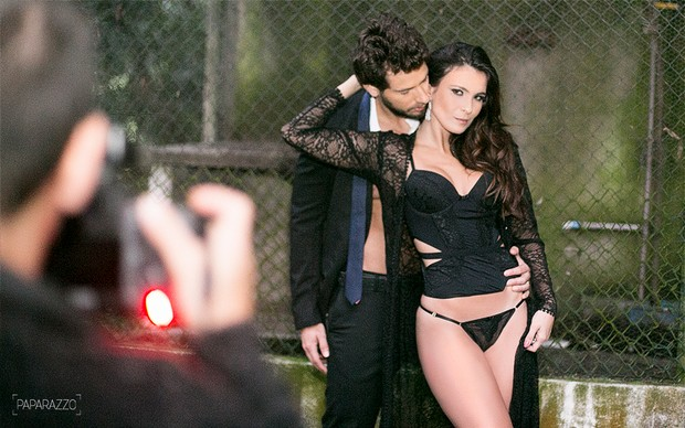 Making of Eliéser e Kamilla no Paparazzo (Foto: Anderson Barros / Paparazzo)
