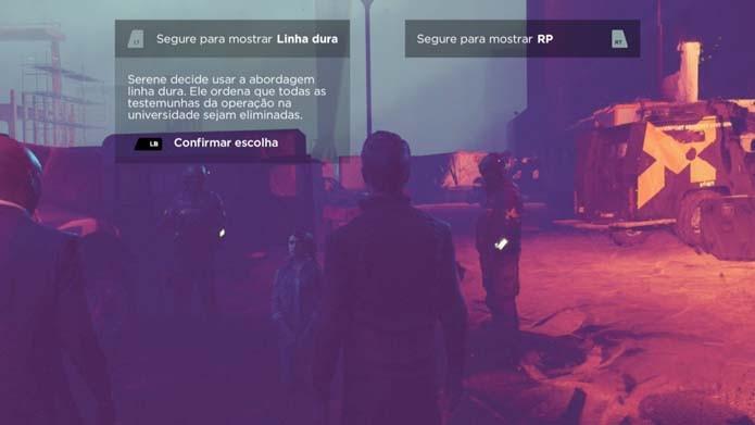 Capriche nas escolhas em Quantum Break (Foto: Reprodução/Murilo Molina)