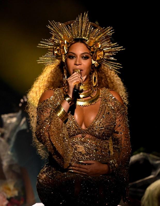 Beyoncé no Grammy (Foto: Getty Images)