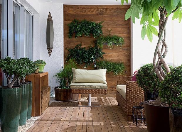 Decoraç u00e3o de varanda Casa e Jardim Paisagismo -> Decoração De Varanda Com Vasos De Plantas
