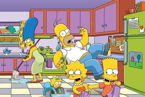 Os protagonistas de Os Simpsons (Foto: Divulgação)