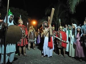 Paixão de Cristo reúne 150 atores em Búzios (Foto: Divulgação / Prefeitura)
