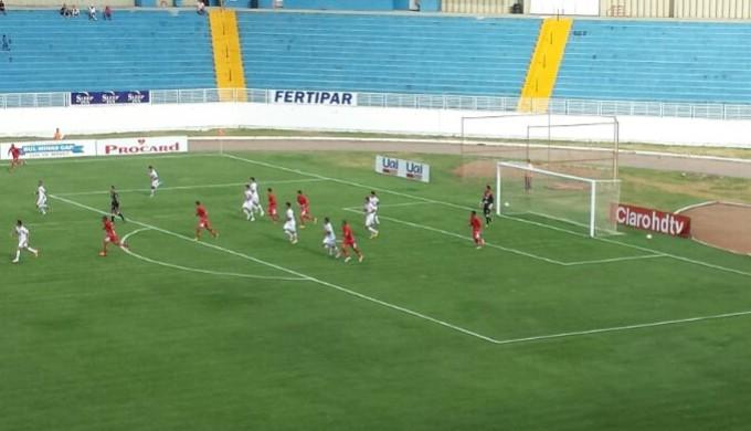 Boa Esporte x Guarani-MG (Foto: Thiago Luz)