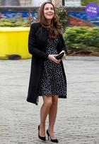 Look do dia: Kate Middleton usa vestido de R$ 168