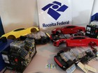 Receita Federal encontra remédios em carrinhos de controle remoto