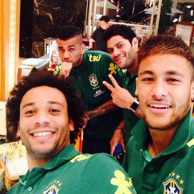 Jogadores da Seleção Brasileira (Foto: Reprodução/Instagram)