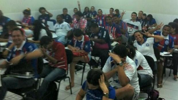 Bahia sala direito (Foto: Reprodução / Twitter)