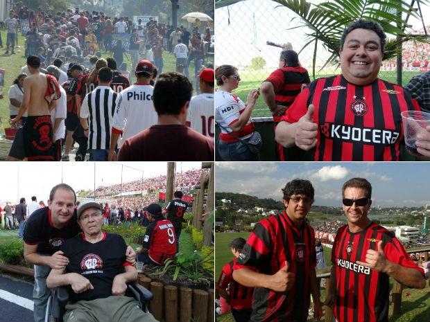 Torcida do Atlético-PR (Foto: Sérgio Tavares Filho/Globoesporte.com)