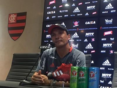 Zé Ricardo Coletiva Flamengo (Foto: Amanda Kestelman)
