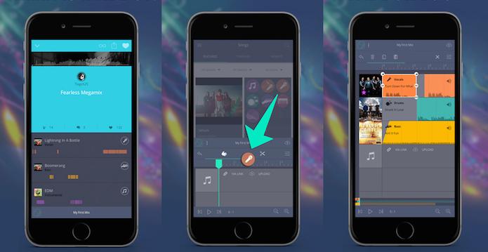 Crie mashups e remixes interessantes com o Indiloop (Foto: Divulgação/AppStore)
