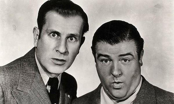 """William """"Bud"""" Abbott e Lou Costello (Foto: .)"""