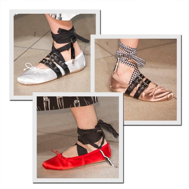 Sapatilhas do verão 2016 da Miu Miu já estão à venda (Foto: Imaxtree)