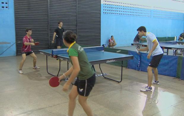 Mesatenistas do AP se preparam para competições em Setembro (Foto: Reprodução/TV Amapá)