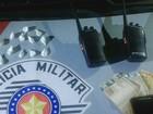 Polícia Militar apreende cocaína e rádios transceptores em baile funk