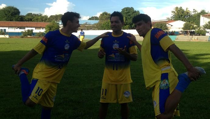 Marcos Paulo, Fábio Bala e Lourival são os destaques do Interporto nesta temporada (Foto: Vilma Nascimento/GloboEsporte.com)