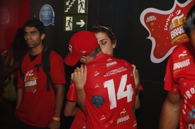 Maria Gadu com a namorada (Foto: Felipe Panfili/ Ag. News)