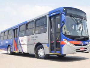 Padrão azul da EMTU será adotado nos ônibus que circulam no Vale do Paraíba. (Foto: Divulgação/EMTU)